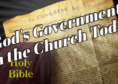 God's Government for the Church Today
