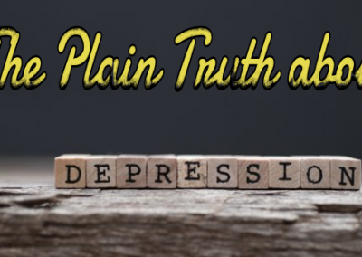 The Plain Truth about Depression