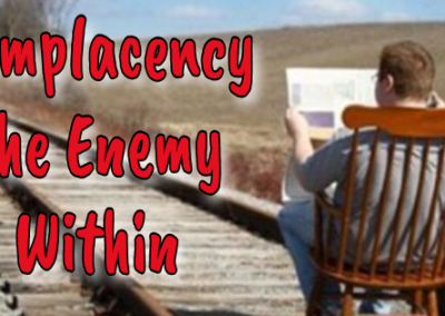Complacency the enemy within