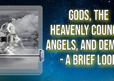 Spirits in Heaven – Outline