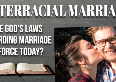 Interracial Marriage and Scripture