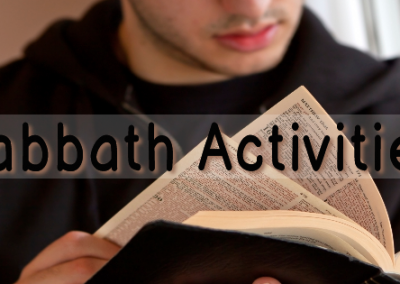 Sabbath Activites
