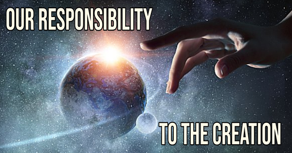 Our Responsibility to the Creation