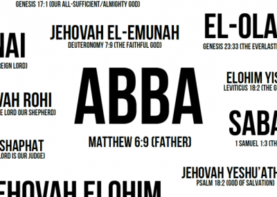God's Names and Character