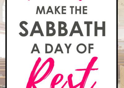 Sabbath Done Away Outline